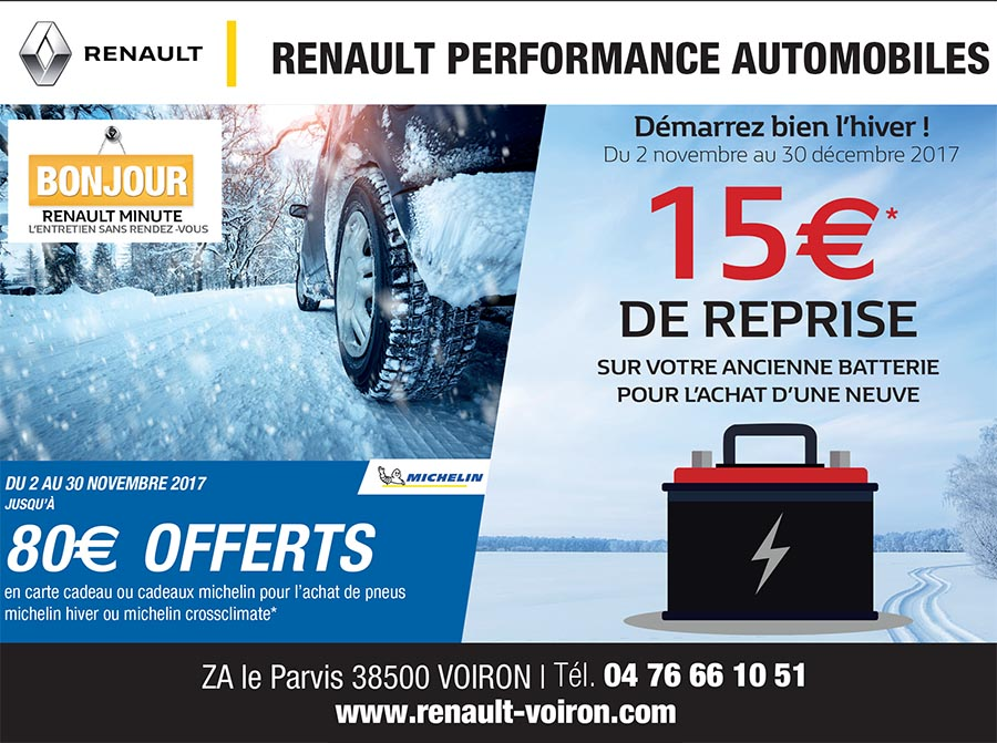Performance Automobile Renault minute