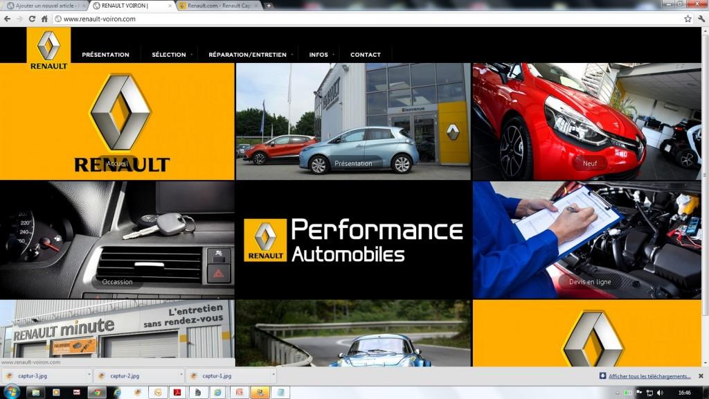 Ouverture de notre nouveau site internet