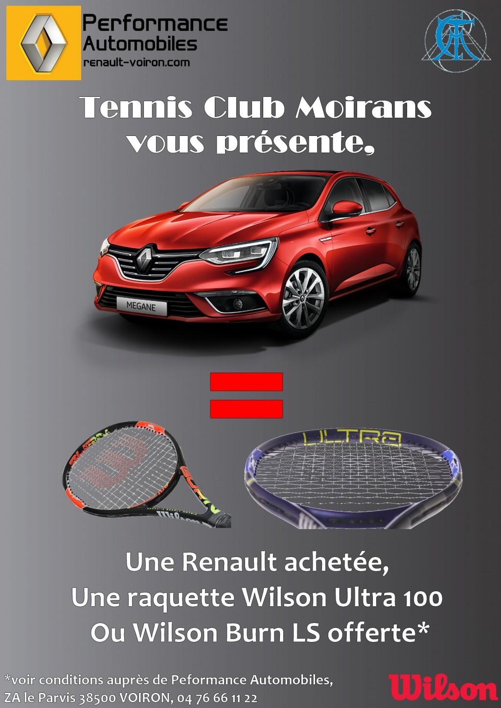 Partenariat avec le Tennis Club Moirans
