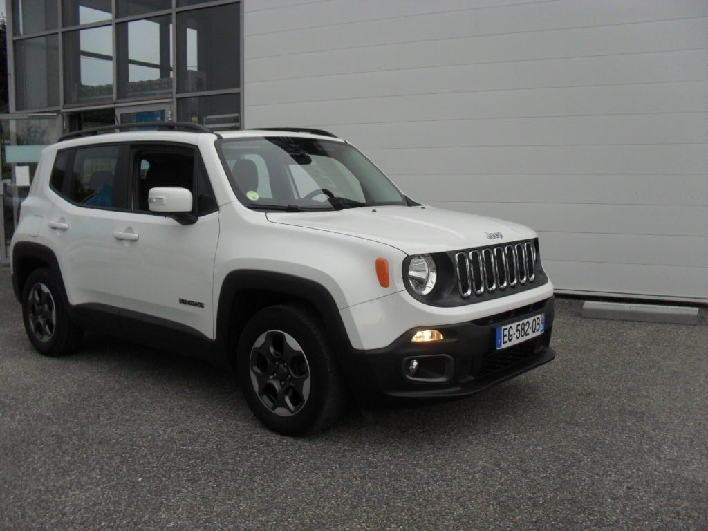 JEEP RENEGADE LONGITUDE 1.6 MJT 120ch  GARANTIE 6 MOIS  14 490 €  Version : 1.6 ...