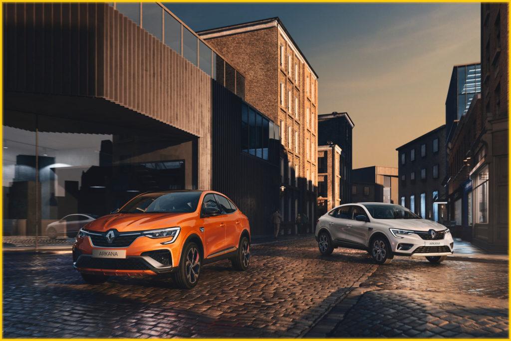 Au premier regard, c'était déjà le coup de coeur pour Nouveau Renault ARKANA... ...