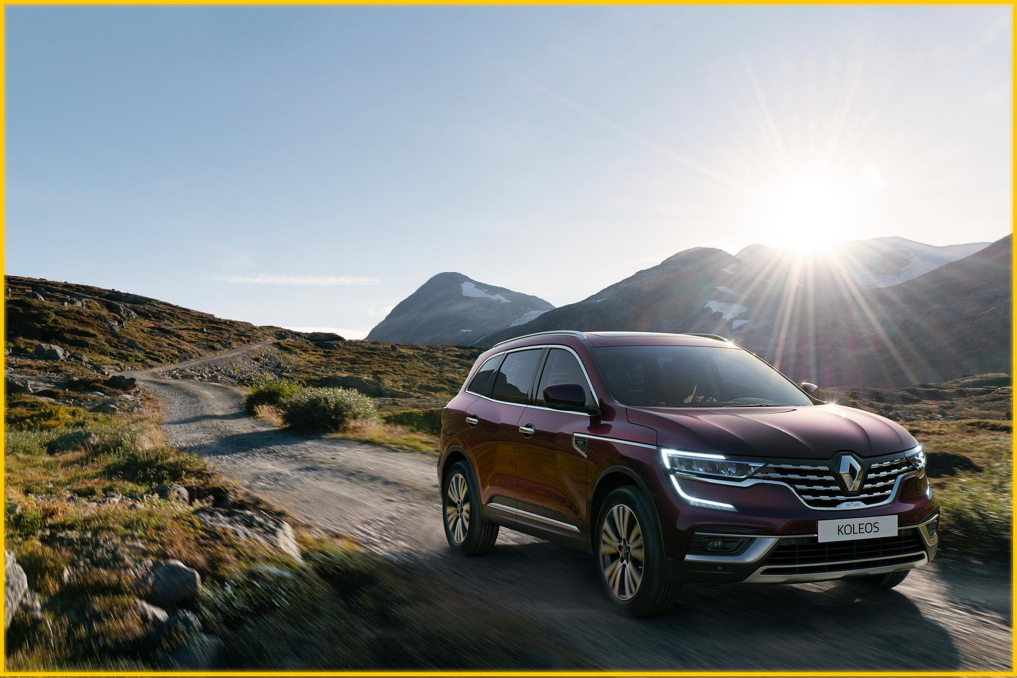 Découvrez Renault KOLEOS, l'alliance parfaite entre l'élégance et la robustesse ...