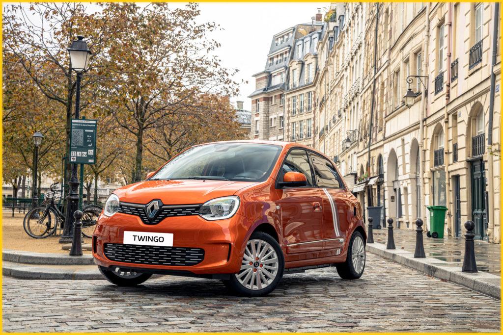 Nouvelle Renault TWINGO Electric Série Limitée Vibes a apporté du peps en juille...
