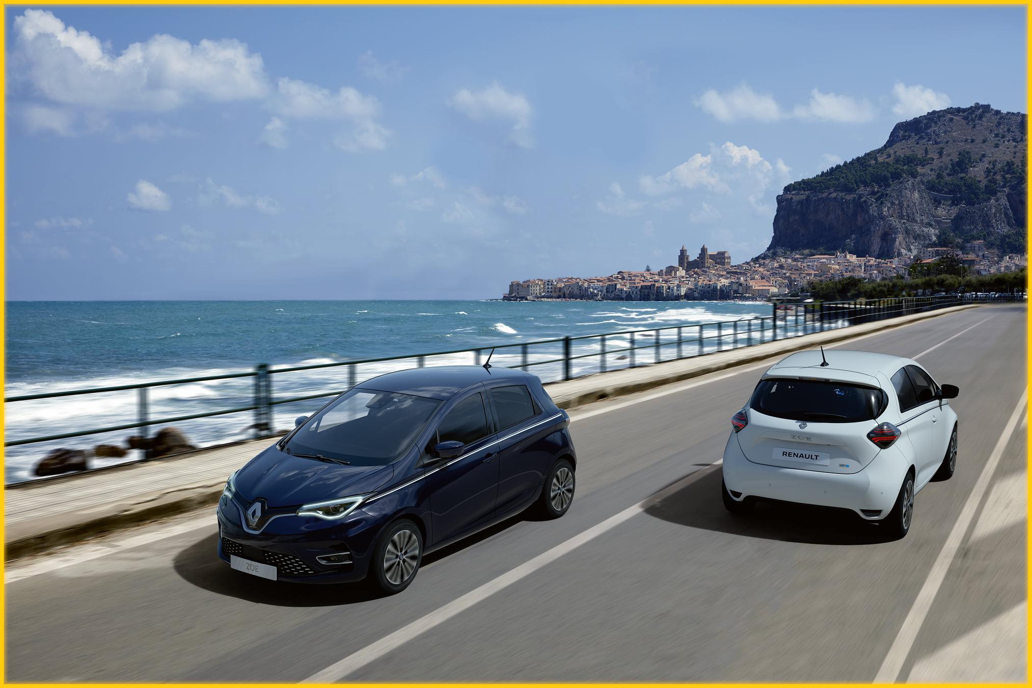 On a pris le large en octobre avec Nouvelle Renault ZOE Série Limitée Exception....