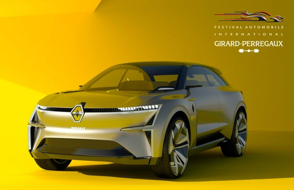 Renault Morphoz : Grand Prix Creativ'Experience au Festival Automobile Internati...